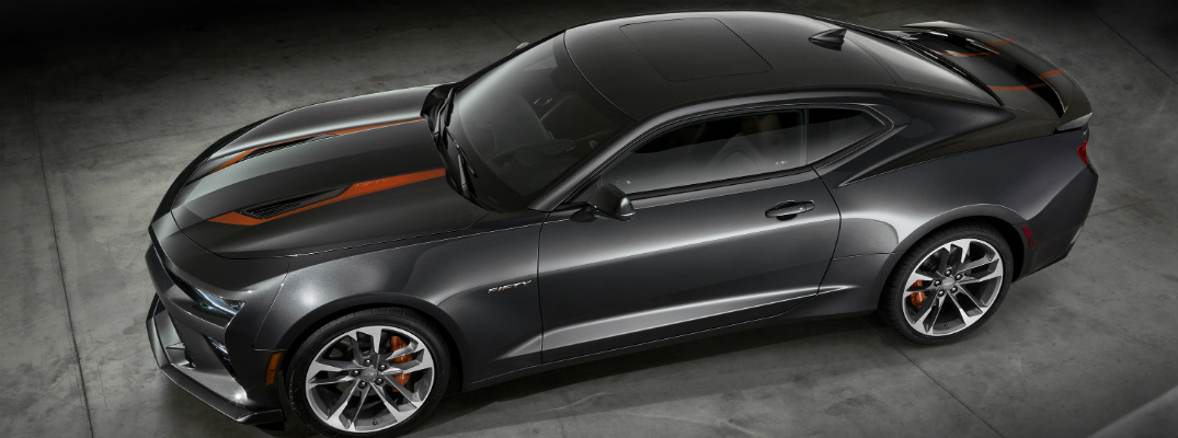 What does the Camaro 50th Anniversary Edition look like?