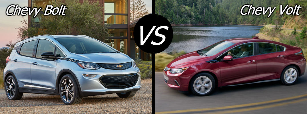 Chevy Bolt vs Chevy Volt