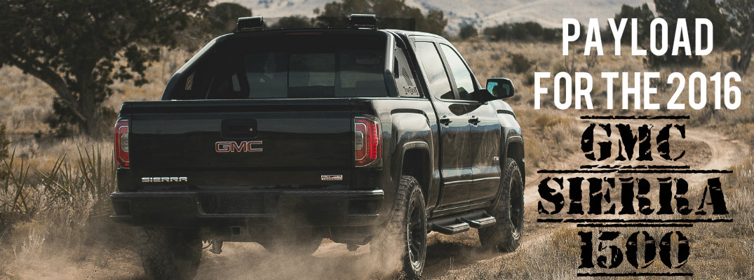 How much can you haul in the 2016 GMC Sierra 1500?