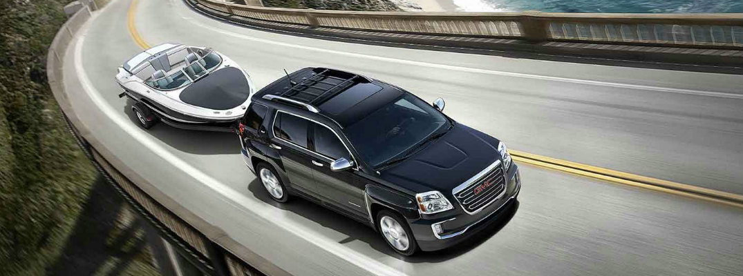 Can the 2016 GMC Terrain pull a boat?