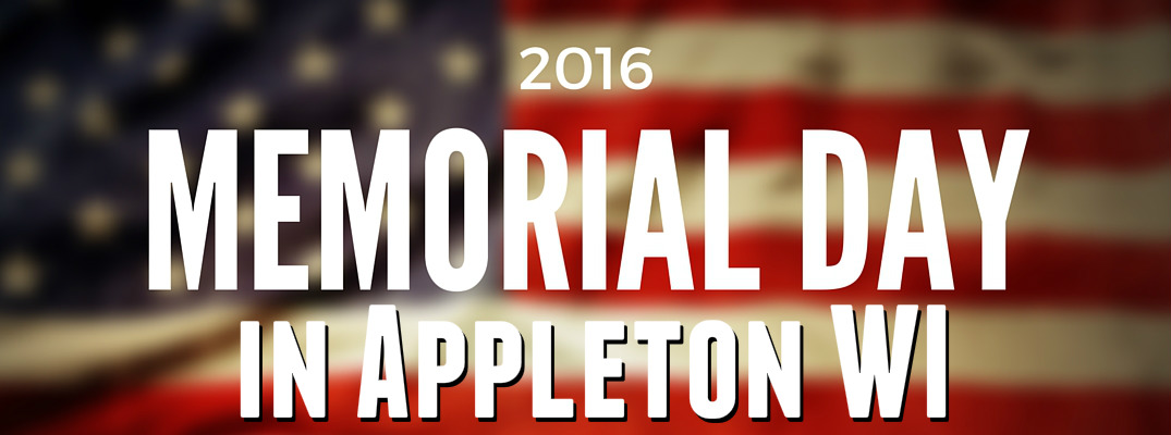 Memorial Day 2016 Parade in Appleton WI