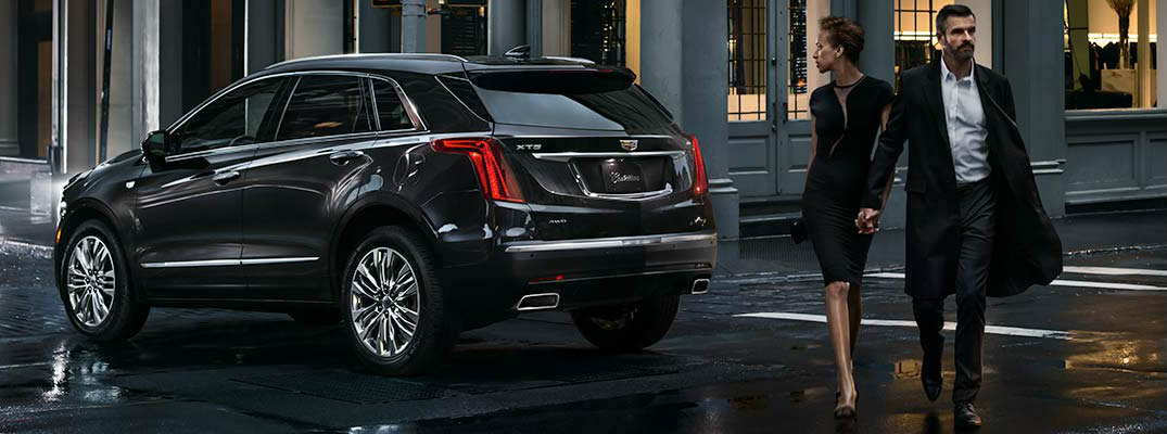 What Comes Standard In The 2017 Cadillac Xt5