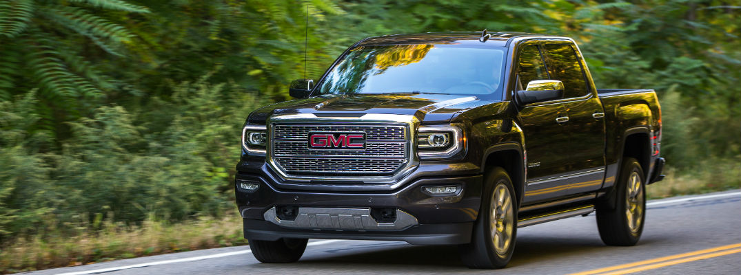 What GMC vehicles have a Denali Trim?