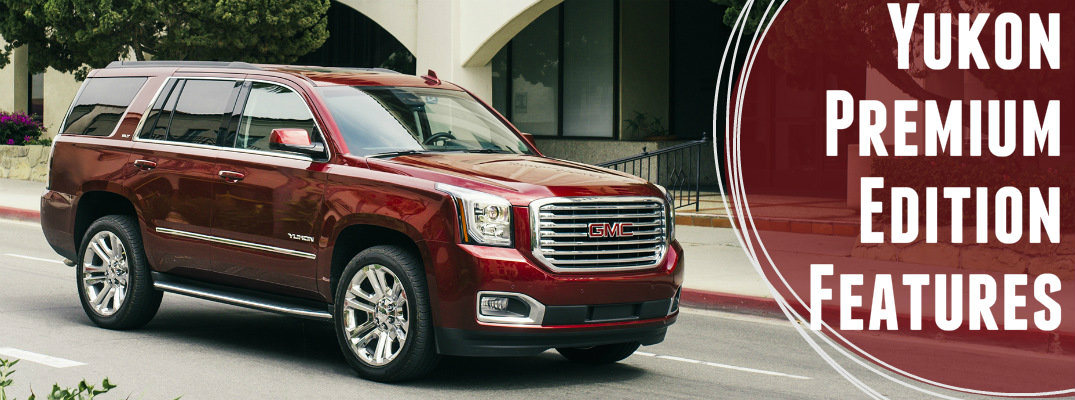 What comes with the Yukon SLT Premium Edition?