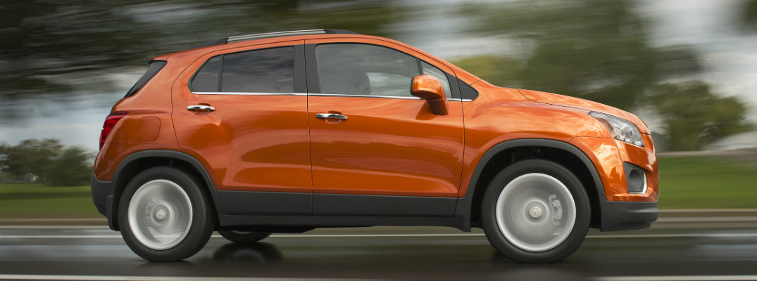 Does the 2016 Chevy Trax have AWD?