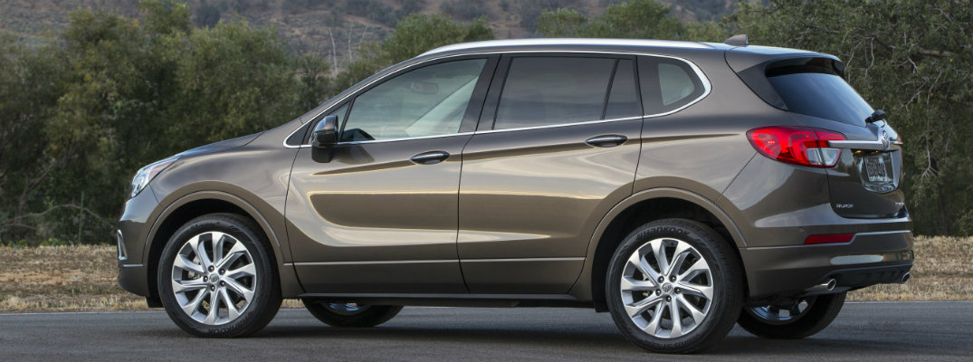 New Trim Levels in the 2017 Buick Envision