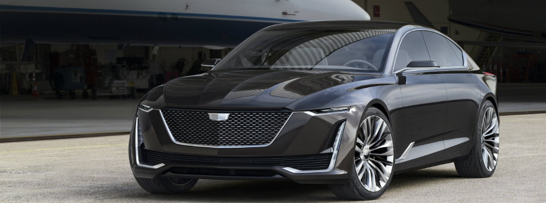 First Look at the New Cadillac Escala Concept