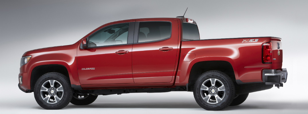 New Engines in the 2017 Chevy Colorado