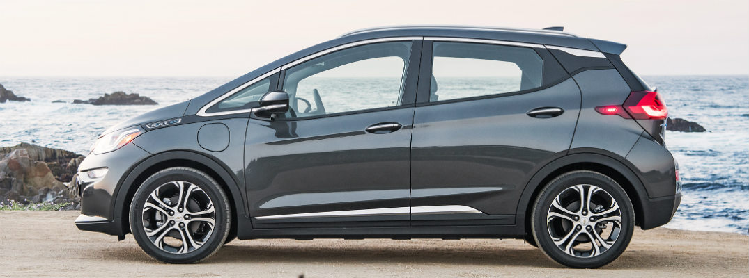 How far can you drive in the 2017 Chevy Bolt EV?