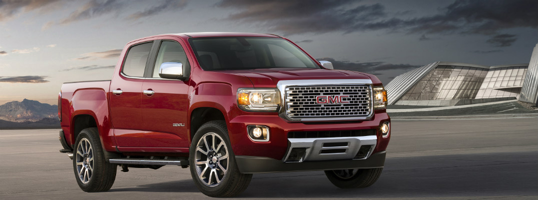 What's new in the 2017 GMC Canyon?