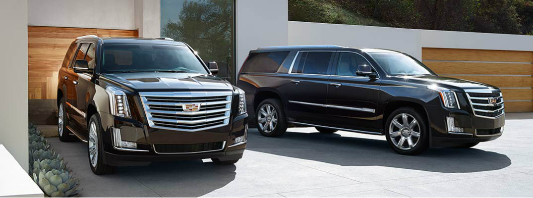 How many seats does the 2017 Cadillac Escalade have?