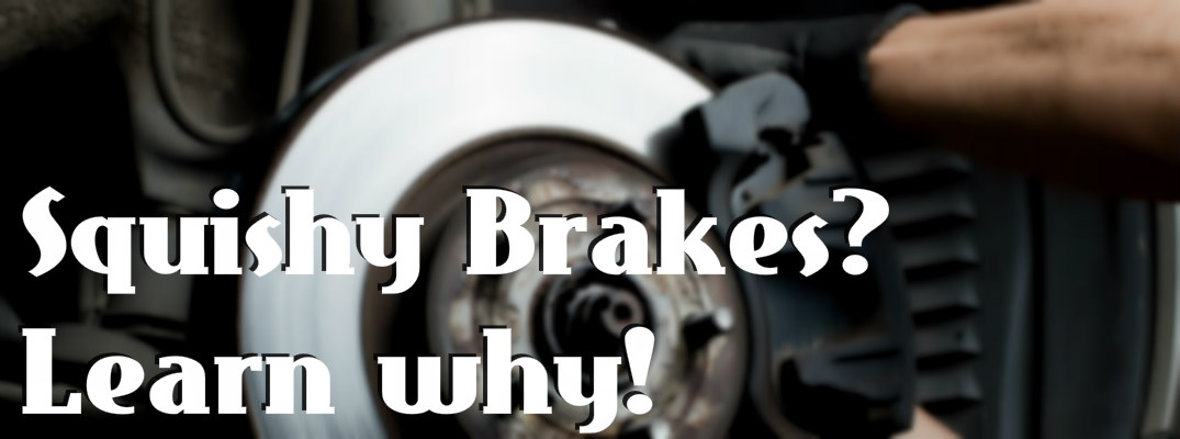 Why do my brakes feel soft after a hard brake?