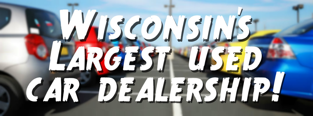 Where is the largest used car dealership in Wisconsin?