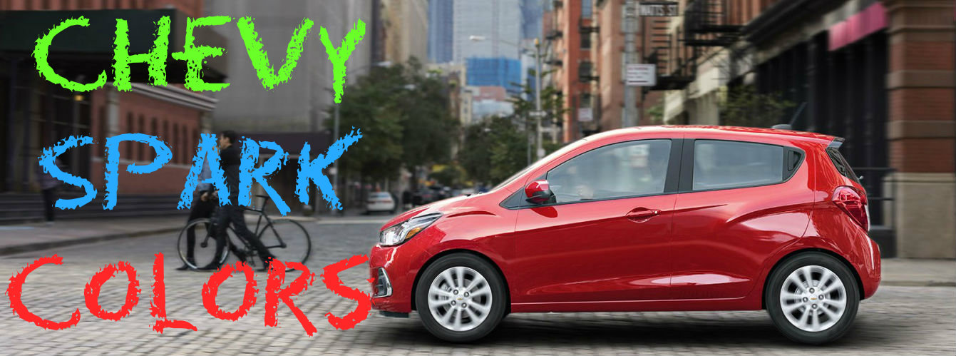 Chevy Dealer Madison Wi >> Fun Color Choices in the 2017 Chevy Spark - Holiday Automotive
