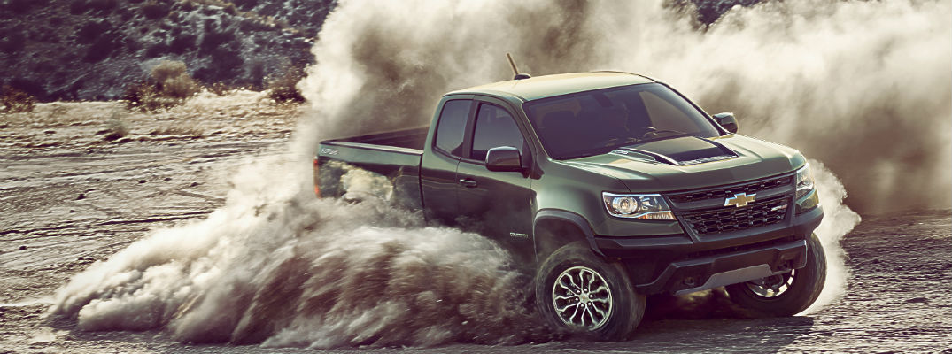 How capable is the Colorado ZR2 Off-Road Truck?