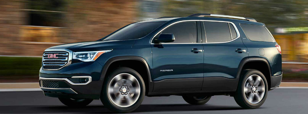 How Many Passengers Does The 2017 Gmc Acadia Hold