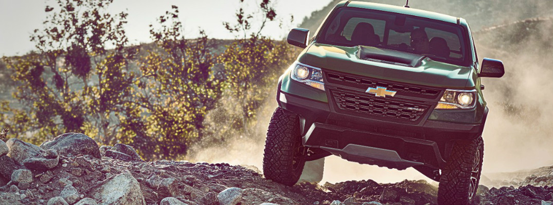 2017 Chevy Colorado ZR2 Off Road Features and Pricing