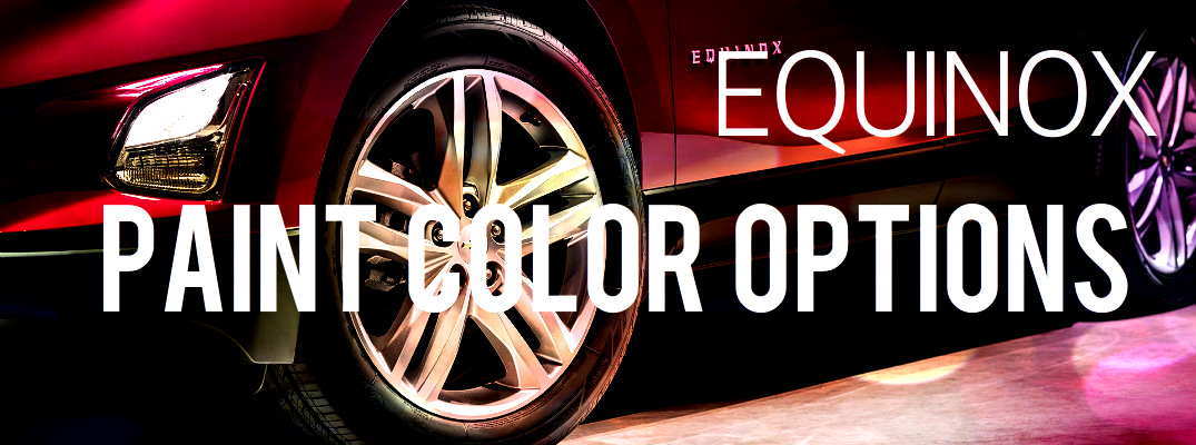 2018 chevy equinox paint color options - Paint Color Options