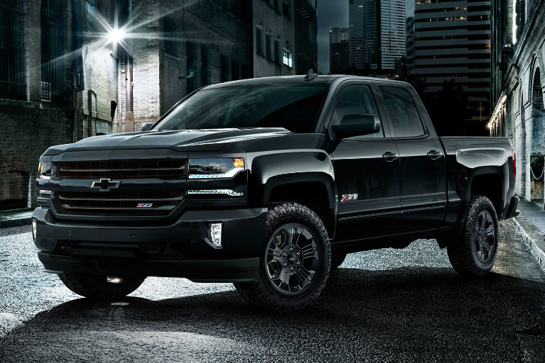 2017 Silverado 1500 Blacked Out