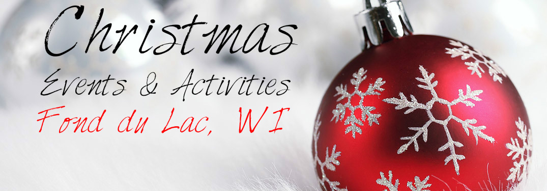 Christmas ornament with test Christmas events & activities Fond du Lac WI