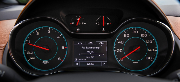 2018 Chevy Cruze Diesel gauge cluster with fuel economy