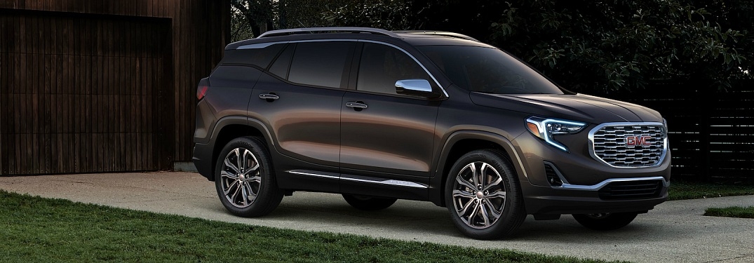 What colors are available on the GMC Terrain?