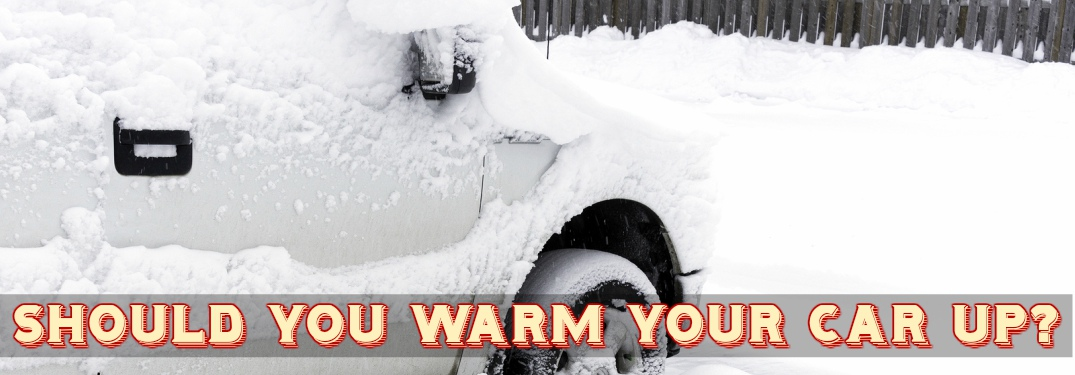 Is warming up your car on a cold day necessary?