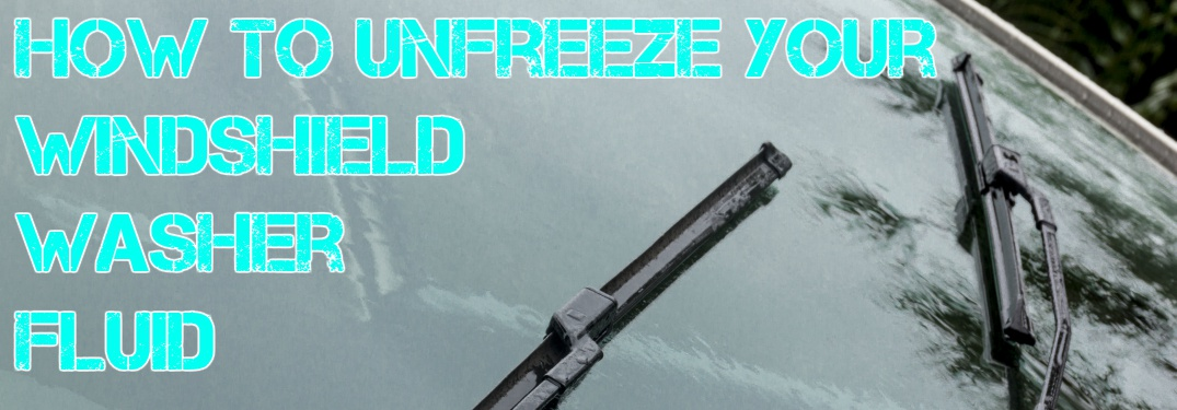 How to tell if your windshield wiper fluid is frozen