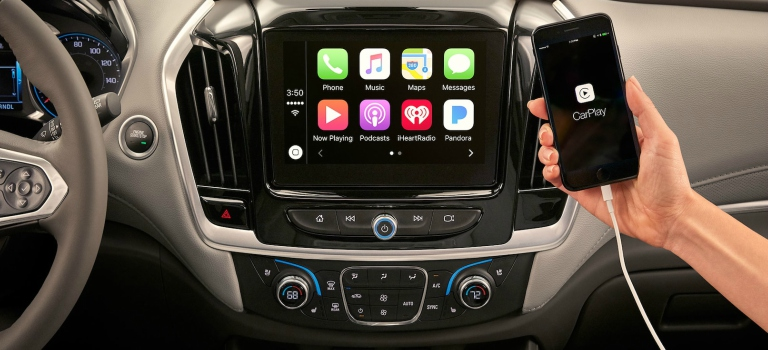 2018 Chevy Traverse infotainment system