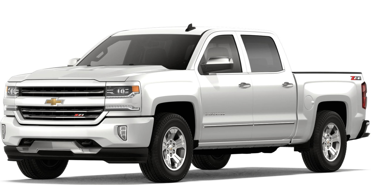 2018 Chevy Silverado 1500 paint color options