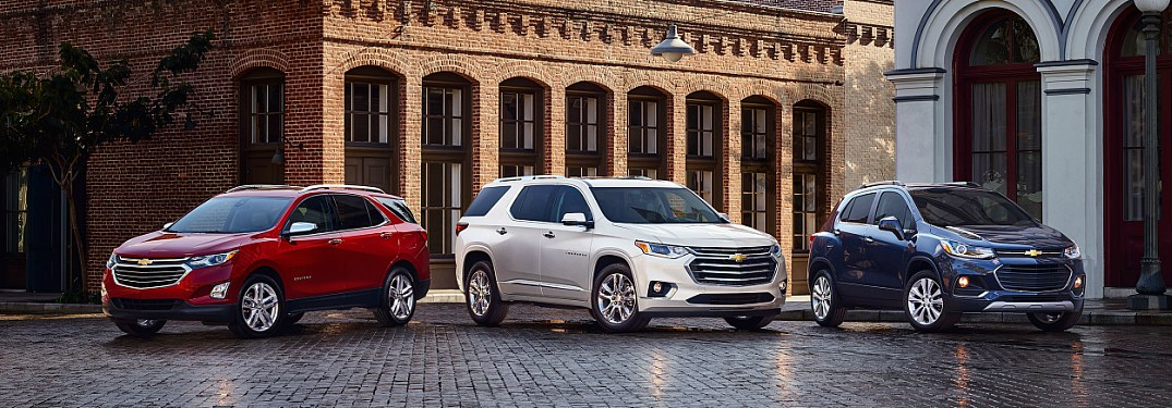 2018 Chevy crossover lineup Trax Equinox and Traverse