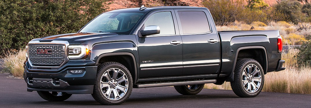 What is the top trim for a GMC?