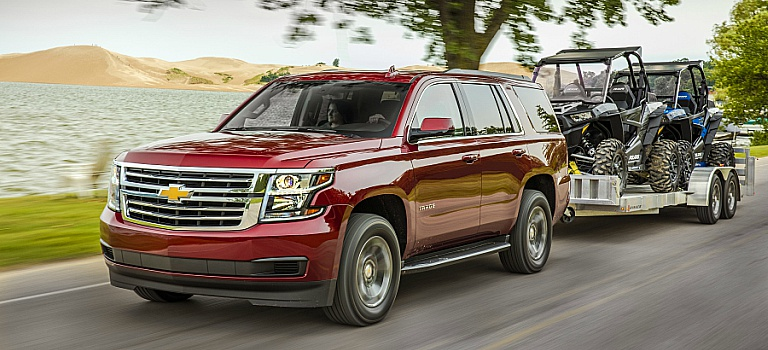 Chevy Suburban Towing Capacity >> Towing Capacity Of 2018 Chevy Suvs