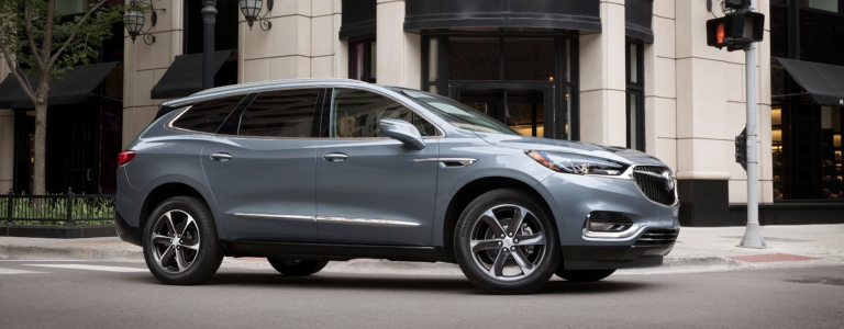 Buick Enclave Seating Capacity >> Cargo Capacity Of 2018 Buick Suvs