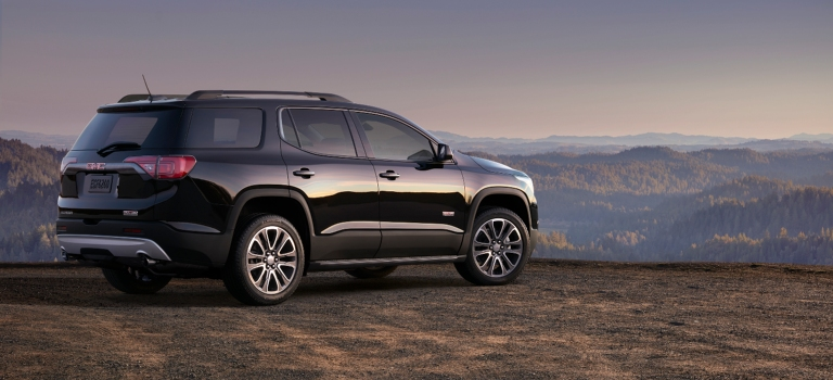 what is the 2018 gmc acadia all terrain. Black Bedroom Furniture Sets. Home Design Ideas