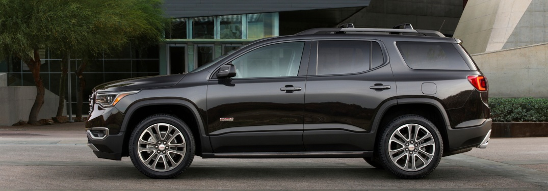 2018 GMC Acadia All Terrain Black side view