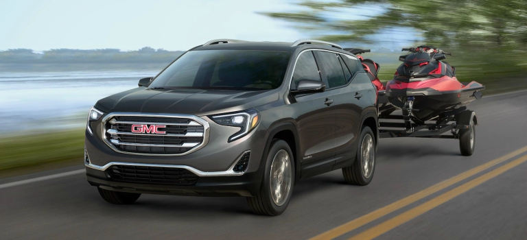 towing capacity of 2018 gmc suvs. Black Bedroom Furniture Sets. Home Design Ideas