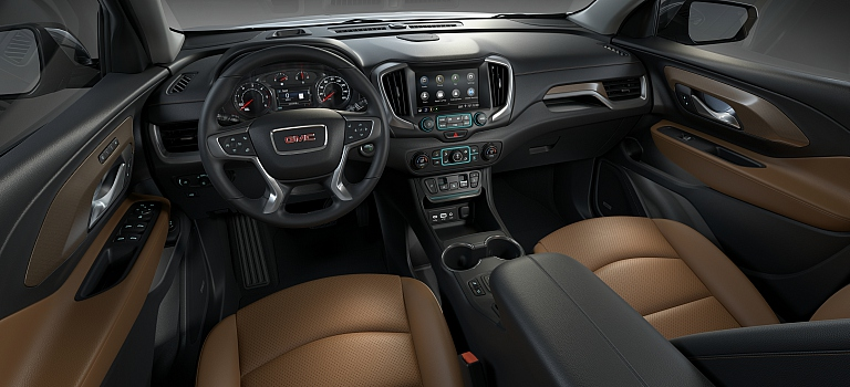 2018 GMC Terrain tan interior