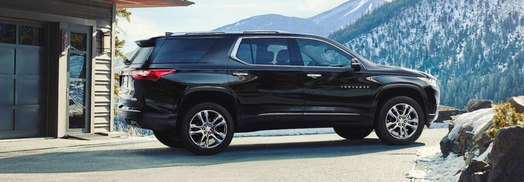 What are the trim levels for the 2019 Chevy Traverse?