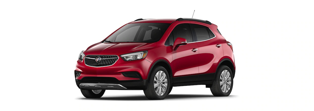 Red Buick Encore >> 2019 Buick Encore Winterberry Red Metallic Side View O