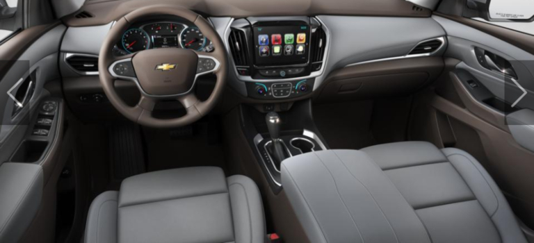 What Colors Does The 2019 Chevy Traverse Come In