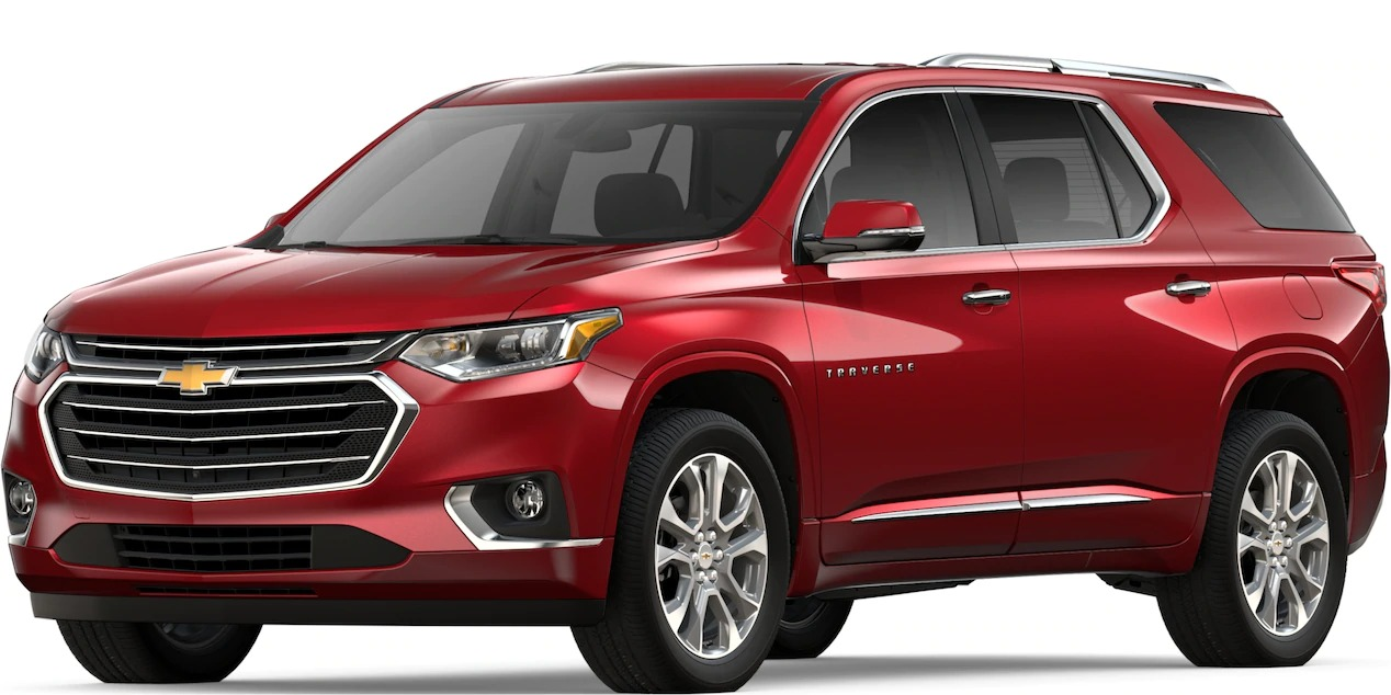 What colors does the 2019 Chevy Traverse come in?