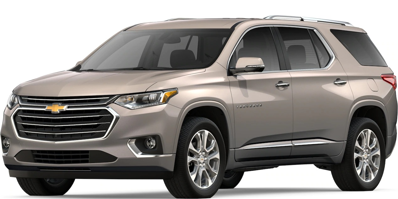 2019-Chevy-Traverse-Pepperdust-Metallic-side-view_o - Holiday Automotive
