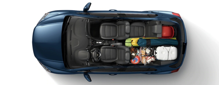 How much cargo room does the 2019 Chevy Trax have?