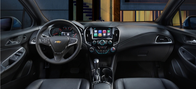 2018 Chevy Cruze infotainment screen