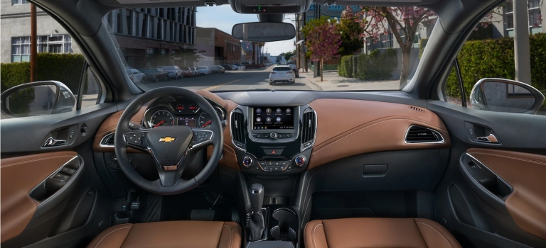 2019 Chevy Cruze infotainment screen