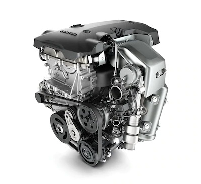 2019 GMC Terrain optional gas engine