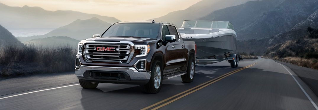 Towing and payload figures for the 2019 GMC Sierra