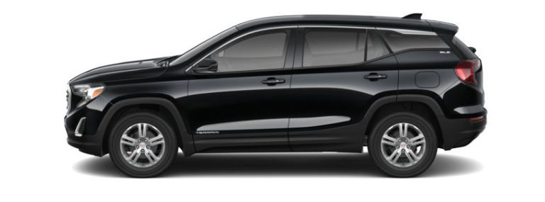 2019 GMC Terrain Ebony Twilight Metallic side view