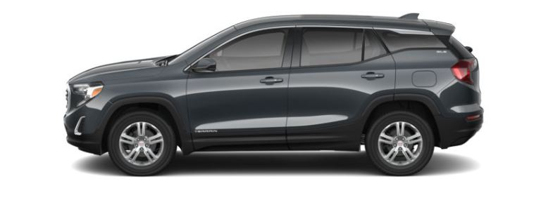 2019 GMC Terrain Graphite Gray Metallic side view